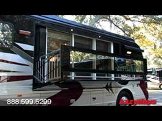 Living the RV Life - in Style!    Yes please.  It has a patio!!!