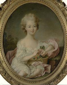 MARIE-THÉRÈSE DE SAVOIE-CARIGNAN PUIS PRINCESSE DE LAMBALLE by the lost gallery, via Flickr