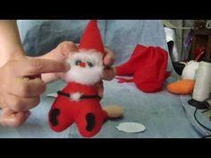 Papá Noel servilletero fácil...proyecto 99