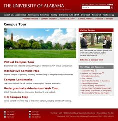 Interactive Campus Map Ua.92 Best Beautiful Campus Images University Of Alabama Roll Tide