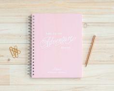 Wedding Journal Personalized Wedding Planner Book Engagement Journal Wedding Planner Wedding Notebook Wedding Guide lay flat journal book