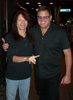 Rudy Sarzo and Bill Ganz - #billganz http://www.linkedin.com/in/billganz