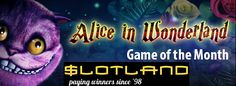 Get free spins and mad hatter boosts on the Alice in Wonderland #slot at Slotland #Casino this May.  Plus, every Wed. is #HappyHour where you can get a 65% match bonus- https://www.freeslotmoney.com/get-free-spins-and-mad-hatter-boosts-on-alice-in-wonderland-at-slotland-casino/