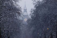 Great shot of Big Ben in the snow by Jon Baker