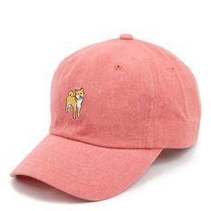 SHIBA INU DOG BASEBALL CAP