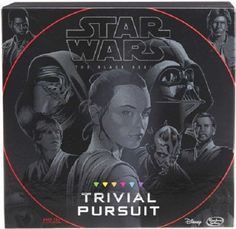 STAR WARS TRIVIAL PURSUIT BOARD GAME MOVIE SCIENCE FICTION KNOWLEDGE TEEN ADULT