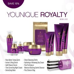 Younique Royalty Collection