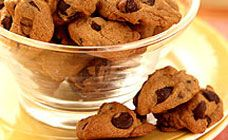 Mini Choc Chip Biscuits Recipe - Weight Watchers recipes
