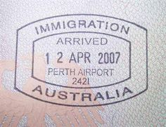 Australia Passport Stamp  #TrollbeadsWorldTour
