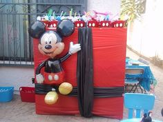 Cute idea for a mickey mouse party