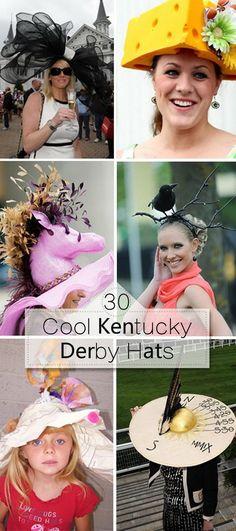 Cool Kentucky Derby Hats!