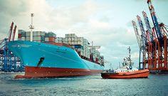 Maren Maersk im Hafen Waltershof - Hamburg #Hamburg #EuropaPassage #EuropaPassageHamburg