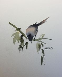 Quick, simple, and fun. Fine Art Watercolors from Awaisha Miller at www.awaisha.com