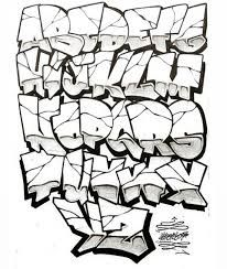 Image result for how to draw graffiti letters a-z step by step