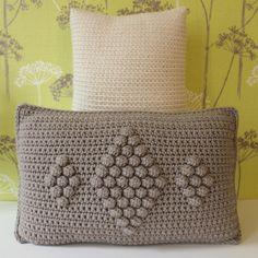 Kussens haken | draadenpapier #pillow #crochet