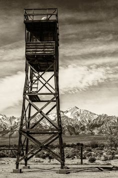 Guns Facing In Guard Tower Manzanar National Historic Site Sierra Nevada Mountains Independence, California Abandoned Prisons, Japanese American, Sierra Nevada, Before Us, Historical Sites, Fine Art America, Guns, Nevada Mountains, Prints