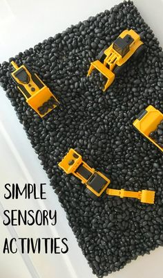 3 Simple Sensory Activities - The Chirping Moms
