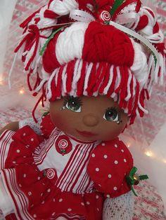 OOAK Mattel My Child Doll ~ Holiday Cutie