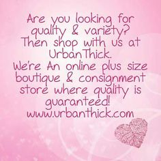 Are you looking for #quality & #variety #plussize #clothing ??? #pluspositive #plusbodyimage #curvychicks #curvtfashion #boutique #shop #forsale #shopping #forsalenow #shoppingonline #dresses #blouses  #jeans #popularbrands #cato #torrid #maggiebarnes and more