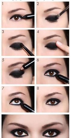 Smoky eye  easy