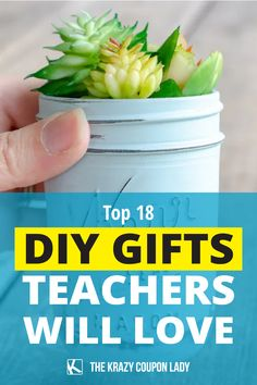 Teacher gifts don't have to be super complicated- they can be easy and quick! Your child's teacher will love these simple DIY ideas for beginning of year gifts, back to school presents, end of year teacher gifts, Christmas gifts, or just anytime tokens of appreciation. These teacher baskets, crafts, decorations, and useful projects are enjoyed by all teachers, aides, principals, and other school faculty! Grab our free teacher gift printable too! Easy Diy Gifts, Teacher Favorite Things, Simple Diy, Teacher Gifts, Appreciation, Diy Ideas, Baskets, Christmas Gifts, Presents