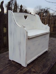 Moderne Truhenbank nieschen bank shabby altholz 72cm and shabby