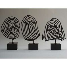 cool wire idea for fingerprints
