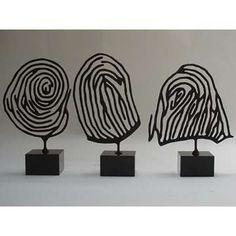 cool wire idea for fingerprints