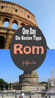 Die besten Tipps um einen Tag in Rom zu erleben. Schau mal rein um nichts zu verpassen!
