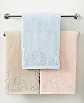 Lenox Bath Towels, Seaside Embellished Collection