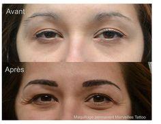 Tatouage sourcils méthode poil à poil Suivez-moi sur facebook : Maquillage…