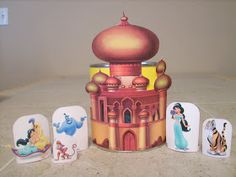 RobbyGurl's Creations: Disney Princess Playsets