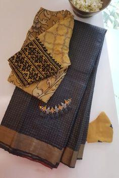 Patch Work Blouse Designs, Blouse Designs Silk, Designer Blouse Patterns, Saree Tassels Designs, Wedding Saree Collection, Sleeves Designs For Dresses, Kurta Designs Women, Stylish Sarees, Saree Models