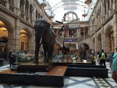 Kelvingrove Art Gallery and Museum, Glasgow, Scotland — by Alysia Oyama. Kelvingrove Art Gallery and Museum - Very nice museum. Well done, combining modern and old
