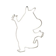 Cookie Cutter – Moomintroll, Medium | The Moomin Shop