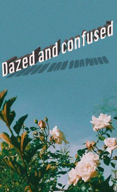 Dazed and confused by Ruel Retro Wallpaper Iphone, Mood Wallpaper, Tumblr Wallpaper, Aesthetic Iphone Wallpaper, Aesthetic Wallpapers, Lyrics Aesthetic, 70s Aesthetic, Aesthetic Words, Being Confused Quotes