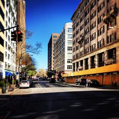 """""""Early meeting in #Tribeca on Good Friday. Streets are quiet."""" —jasonwstein"""