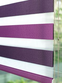 Made to Measure Purple Plum Duplex Blinds from Castelli Range Collection manufactured by Illumin8 Blinds