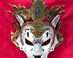Tibetan Snow Leopard Mask