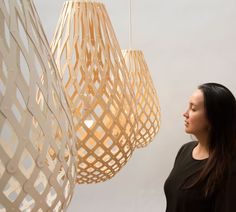 Koura Pendant Light by David Trubridge