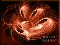 Empty Nest - Abstract Fractal Art By Giada Rossi Digital Art by Giada Rossi #art #giadarossi #surrealart