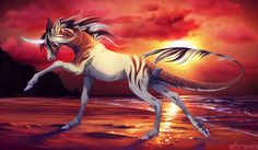 Unicorn by akreon.deviantart.com on @deviantART