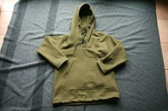 Benefits of Wool Gear: Boreal Shirt from a U.S. Army Wool Blanket!( would l8ve to have one of these)