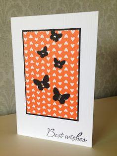 Randis hobbyverden: CAS kort med sommerfugler nr 3