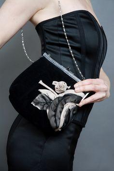 Embellished clutch Fashion Displays, My Design, Fashion Design, Style