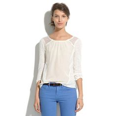 Madewell Soft Mix Top