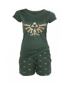 b40ad5afd56 Pyjama pour Femme Hyrule - Zelda in 2019