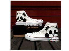 Panda Converse High Tops!