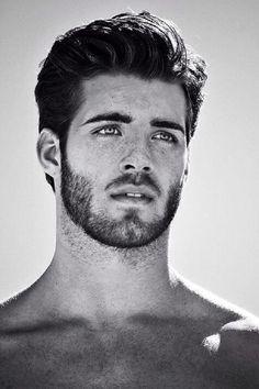 Scruffy Male Model