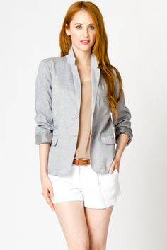 Brooklyn Chambray Blazer